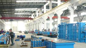冠杰科技高频焊管机组厂房